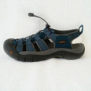 Keen womens sandals hiking walking blue gray 7